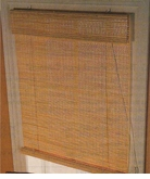 Woven Wood Roller Shade