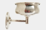 Nickel-plated cup holder, circa 1920s