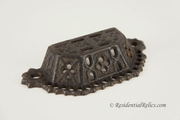 Victorian cast iron bin pull, circa 1880s (4 available)