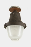 Holophane industrial ceiling light fixture, circa 1930s