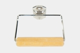 Autoyre chrome-plated toilet paper holder, circa 1950s