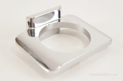 Chrome plated cup holder, circa 1960s