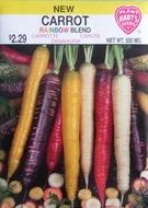 Organic Carrot Rainbow Mixed