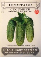 Heritage Cucumber Boston Pickling