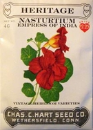 Heritage Nasturtium Empress of India