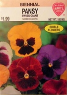 Pansy Swiss Giant