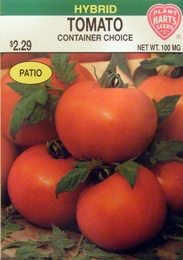 Tomato Container Choice