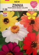 Zinnia Profusion Mix