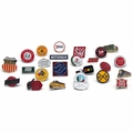10 pc. Assorted Railroad Collectible Pin Set