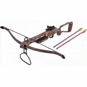 150 lb Draw Autumn Camo Crossbow  [NFS]