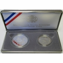1991 Mt. Rushmore Anniversary Proof Coin Set