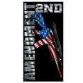 2nd Amendment Beach Towel