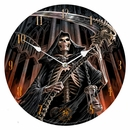 Anne Stokes Final Verdict Wall Clock