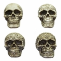 Assorted Celtic Skull Figurine Collection (Box of 12)