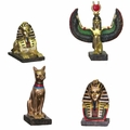 Assorted Egyptian Mythology Figurines (Box of 12)