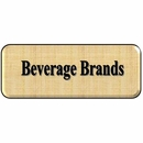 Beverage Metal Signs