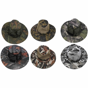 Camouflage Boonie Hat - Assorted Camo Designs - Click to enlarge