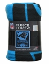 "Carolina Panthers Fleece Blanket 50"" x 60"""