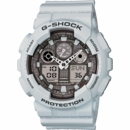 Casio G-Shock Dual Mode Ice Gray Wrist Watch GA100LG-8A