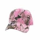 Cotton Solid Pink Hunting Camo