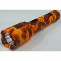 Delta Force 10 Million Volt Stun Gun + 380 Lumen Flashlight- Orange Camo