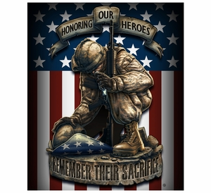 Honor Our Heroes Fleece Blanket