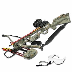 Jaguar 175lb Camo Rifle Crossbow  [NFS]