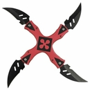 Lucky Strike Red Twister Shuriken
