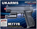 UK Arms M777R Spring Powered Airsoft Pistol
