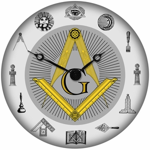 Masonic Wall Clock