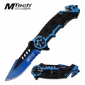 """MTech """"Gearhead """" Two Tone Assisted Opening Rescue Folder"""