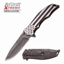 MTech USA Xtreme Don't Tread on Me Stonewashed Assisted Opening Knife