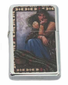 Native American Woman Lighter