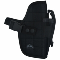 Nylon Pistol Belt Holster / Black