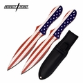 "Perfect Point ""American Thrower"" Professional Knife Throwing Set"