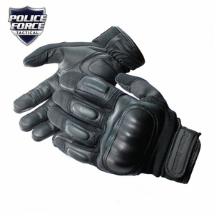 Police Force Hard Knuckle Tactical Gloves- X-Large
