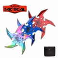 "Razor Tactical 4pc ""Silent Typhoon"" Functional Shuriken Set"