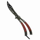 Red Devil Balisong Butterfly Knife