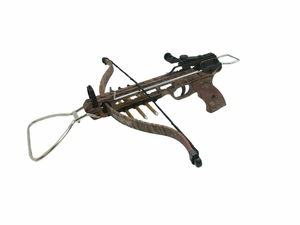 "Cobra ""Silent Hunter"" Camoflauge 80lb. Metal Pistol Crossbow"