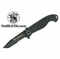 Smith & Wesson Tactical Half Serrated Tanto Folding Knife