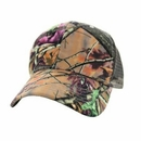 Trucker Style Solid Hunting Camo Cap