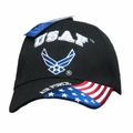 United States Air Force Logo Cap with American Flag