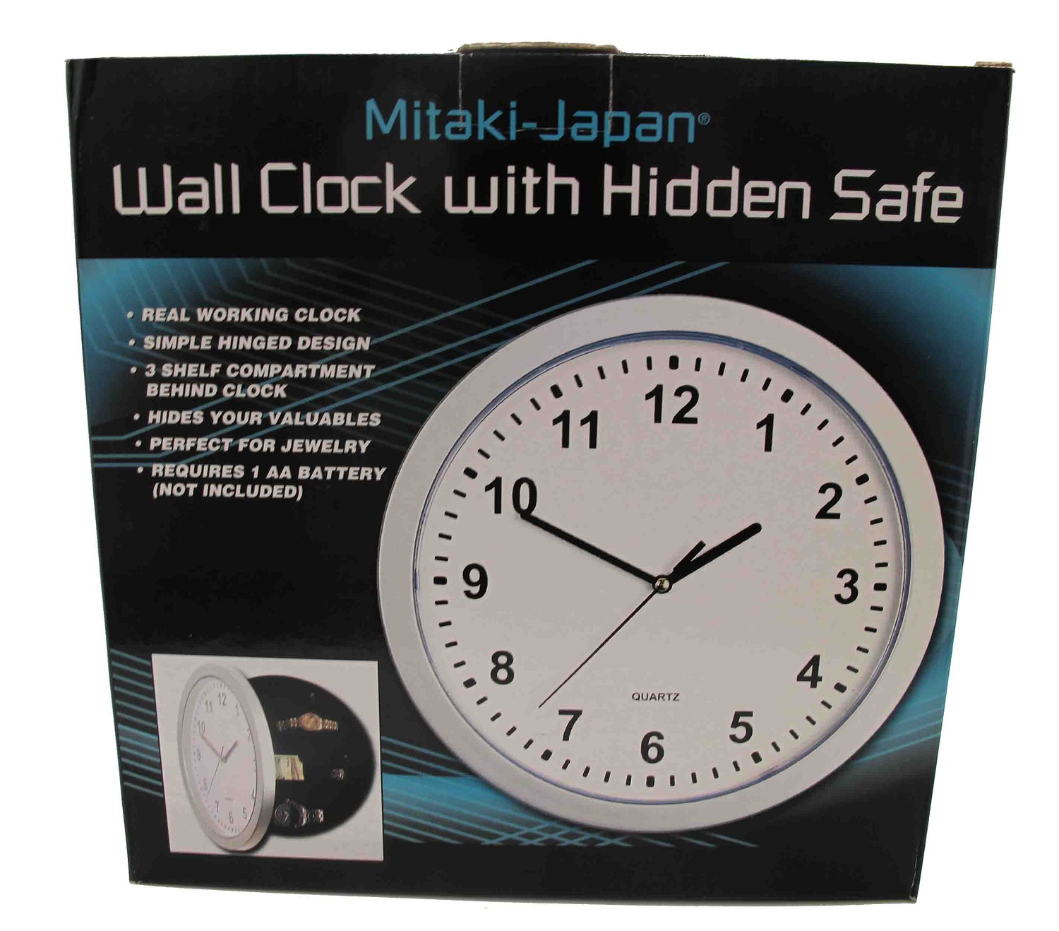 Wall clock with hidden safe wholesale for sale fall clearance amipublicfo Images