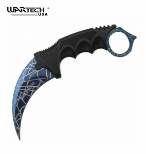 Wartech CS:GO Widow's Web Karambit Knife