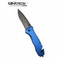 "Wartech ""Midnight Kiss"" Asisted Opening Knife- Blue"