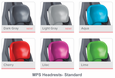 Standard Headrest Colors
