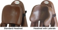 Chocolate Standard & Lateral Headrests