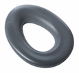 Elongated Potty Seat - Dark Gray
