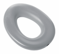 Elongated Potty Seat: Light Gray