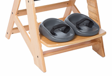 Height Right Chair - Optional Footcups
